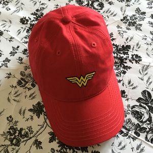 DC Comics Wonder Woman Red Baseball Cap